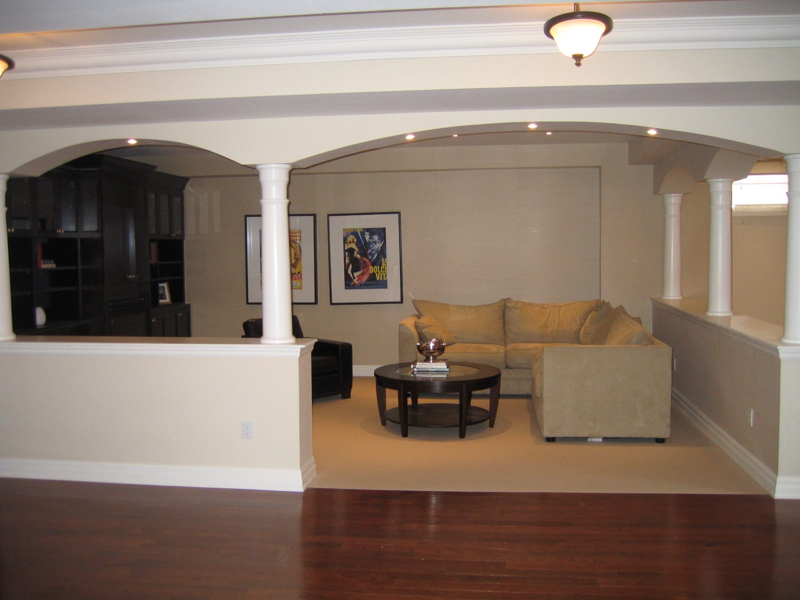 Basement finishing in Oakville