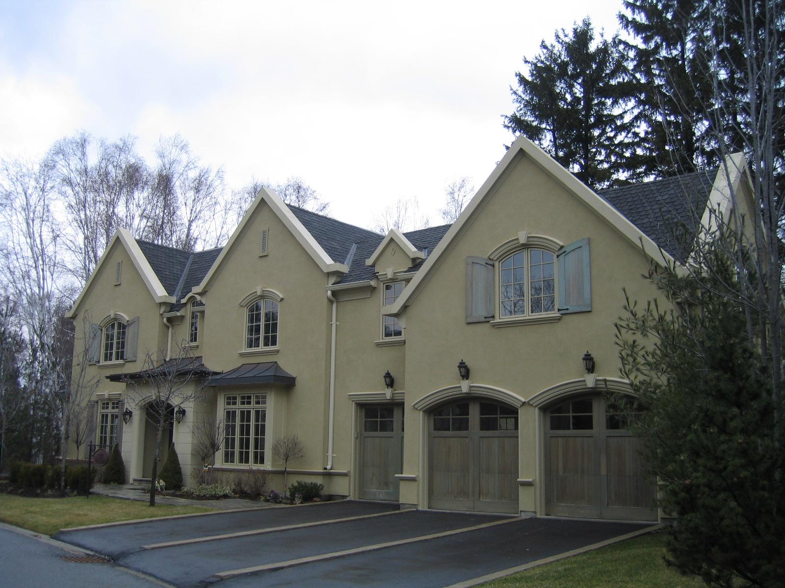 Residential EIFS Stucco Finish intallation