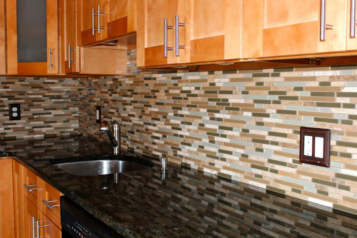 kitchen backsplash installation contractor Milton, oakville