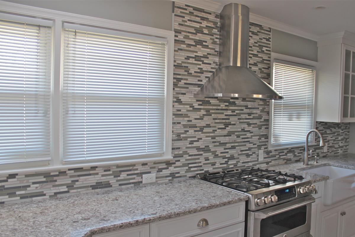 Kitchen remodelling portfolio kitchen renovation backsplash tiles - Mosaic kitchen ...