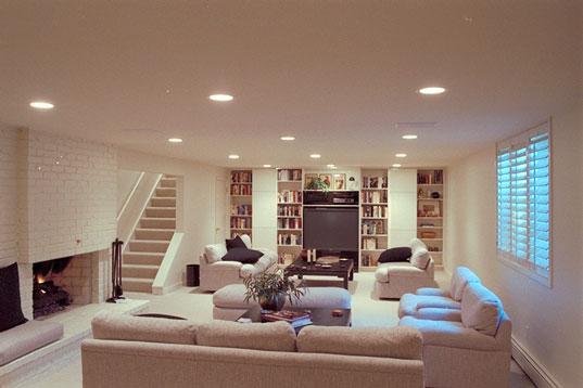 basement family rooms, basement finishing